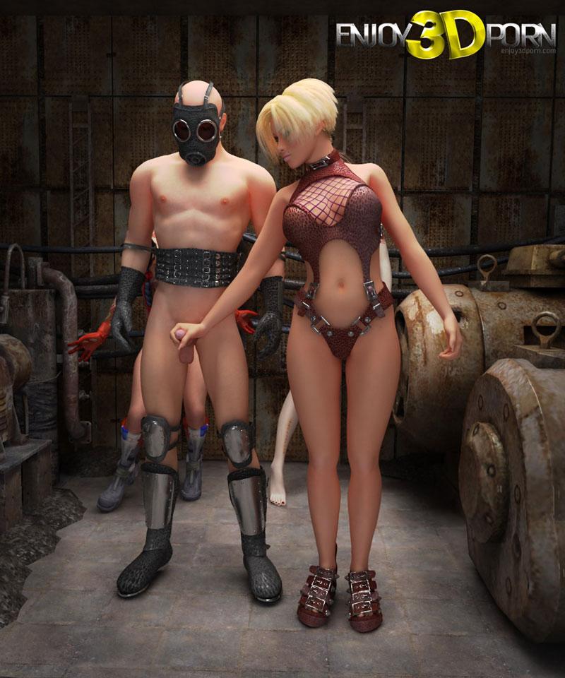 suspension bondage cock
