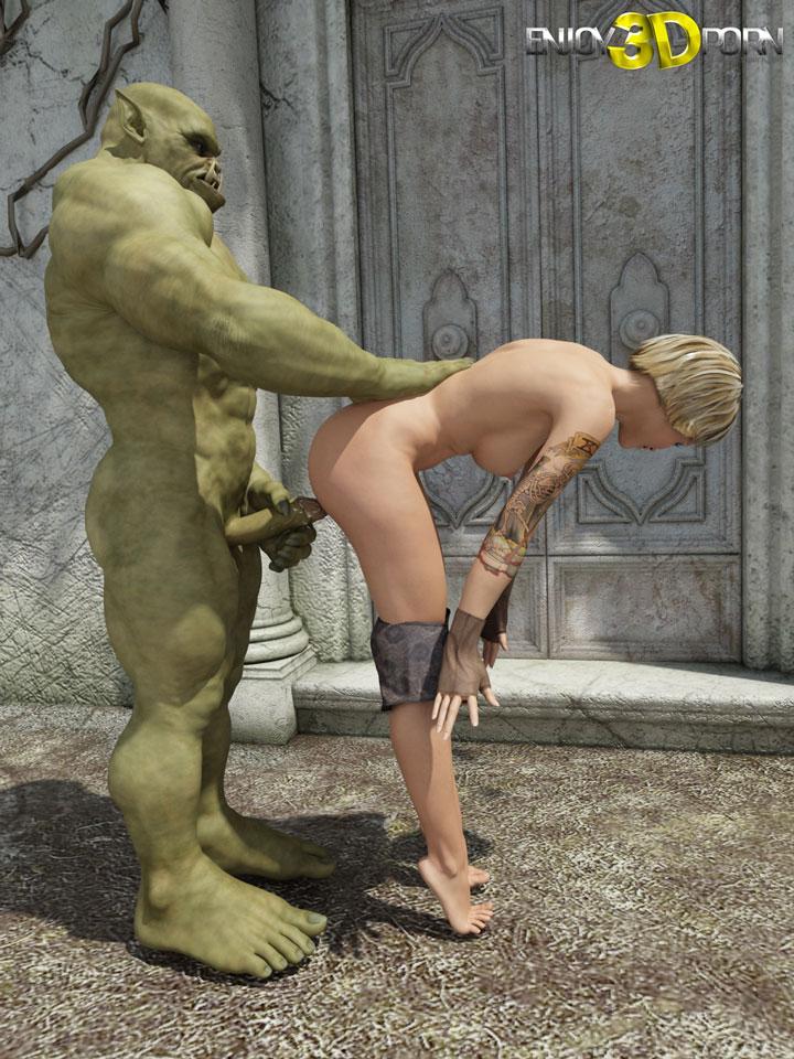 3d ogre sex